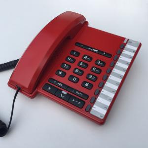 Opvallende rode telefoon